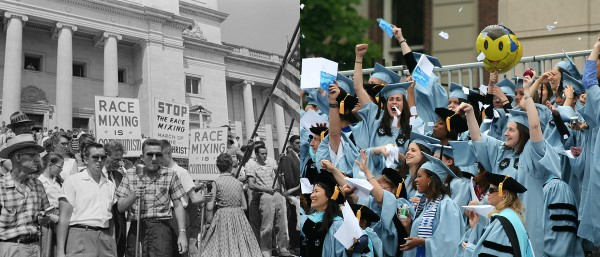 La Universidad de Columbia ha segregado a sus estudiantes. Foto: The Daily Caller.