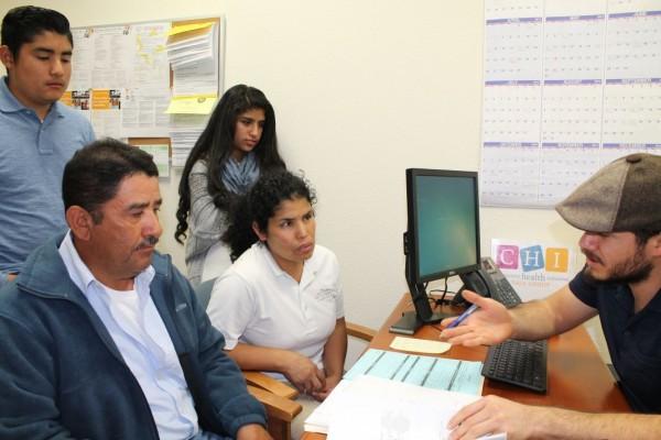 La agencia de salud familiar de Napa CHI ahora Community Health Initiative da atención a familias de bajos ingresos económicos. Foto: Napa Valley Register.