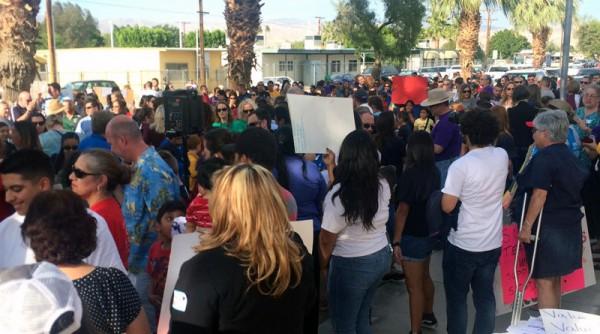 Continúan Impulsando la Justicia Restaurativa en el vale del Distrito Escolar Unificado de Coachella. Foto: Cortesía de Bobby Duke.