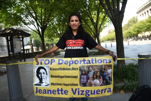La mexicana indocumentada, Jeannete Vizguerra pide en la Casa Blanca alivio para los dreamers
