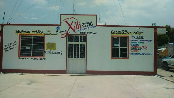 Sede de Radio Xalli