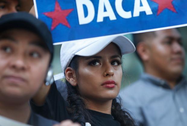 El destino de los Dreamers de DACA ahora está en manos del Congreso. Foto: The Mercury News.