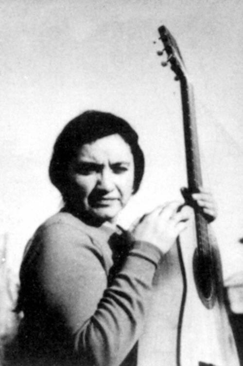 Violeta Parra Sandoval ( Octubre 4, 1917 – February, 1967).