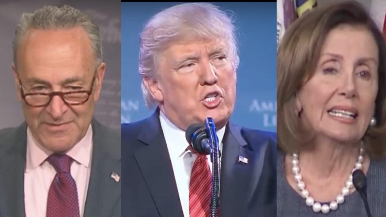 White House denies Pelosi-Schumer statement on Dreamer deal with ... TheBlaze