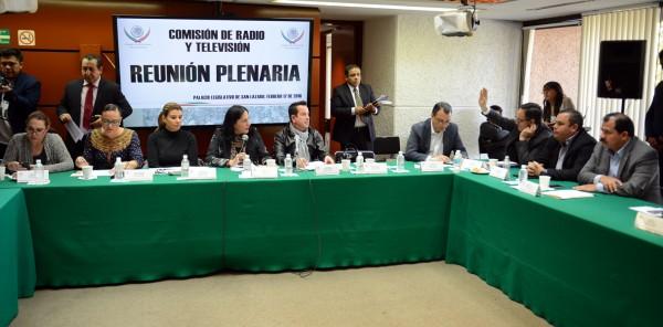 Comisión de Radio y TV.