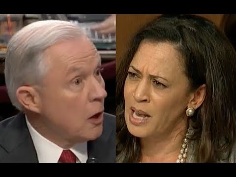 Jeff Sessions' HEATED EXCHANGE with Kamala Harris During the Trump ... YouTube