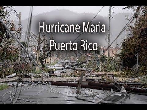 YouTube, Puerto Rico after Hurricane Maria, damage in San Juan, Fajardo, Arecibo, Vieques, Caguas, Yabucoa