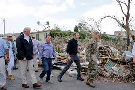 Trump Cites Storm's Budget Impact in Puerto Rico Visit - WSJ Wall Street Journa