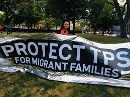 Los titulares de TPS le piden a Trump que no separe las familias antes de la fecha límite clave . Foto: ThinkProgress