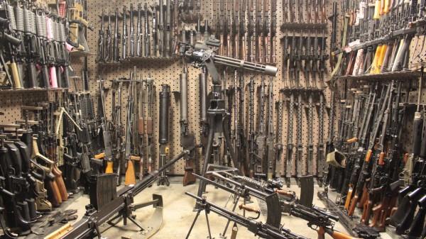 Para disparar una ametralladora automática puede seleccionarla fácilmente en una de las múltiples ferias de armas en Las Vegas. Foto: www.battlefieldvegas.com