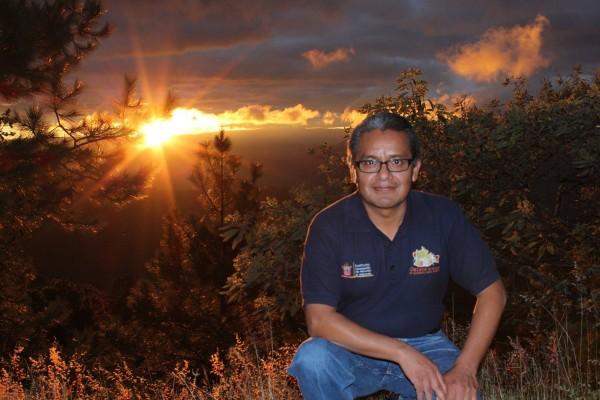 Rufino Domínguez, fue fundador del Centro Binacional para el Desarrollo Indígena Oaxaqueño y además cofundador del Frente Indígena de Organizaciones Binacionales (FIOB). Foto: cortesía del FIOB.
