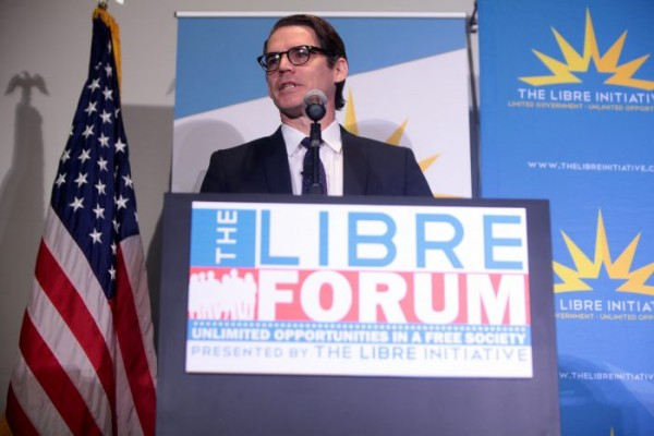 Daniel Garza, de The Libre Initiative: The Koch Brothers' Focus on Latino Voters. Foto: Right Wing Watc.