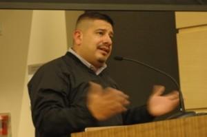 Jimmy Matta, candidato Latino y defensor de los derechos de los inmigrantes.