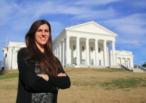 Triunfadora demócrata, Danica Roem. Foto: Garry RVA.