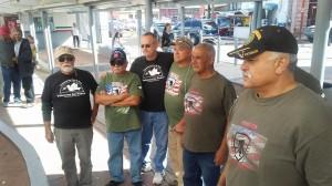 Veteranos deportados celebran su día en Nogales, Sonora. Foto: Cortesía d Roberto Vivar.