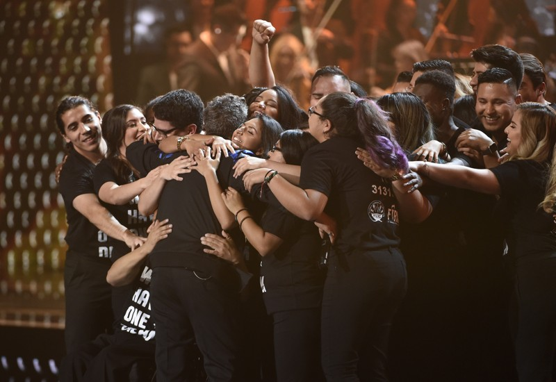 The Latest: Alejandro Sanz dedicates award to 'dreamers' Austin360.com