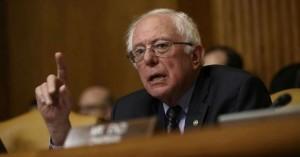 """El senador independiente de Vermont, Bernie Sanders, miembro de rango del Comité de Presupuesto del Senado, fue el primero en votar """"No"""" al proyecto republicano que junto con los otros 11 demócratas en ese comité votando unánimemente en oposición a la medida. Foto: Common Dream."""