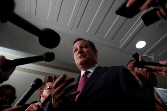 Senador republicano de Texas, Cruz, expresó preocupación por ciertos contenidos del proyecto de recortes impositivos de su partido.  Foto:www.crusaderjournal.com.