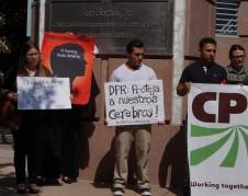 Protesta en Sacramento