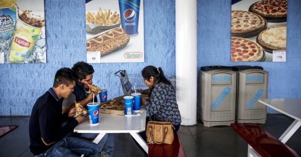En algún establecimiento público de comida en México. Foto: www.treasurereading.com