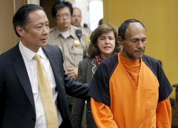 José Inés García Zárate fue declarado no culpable de la muerte de Kathryn Steinle. Foto: Michael Macor / AP.