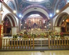 Iglesia de San Pedro, construida con dinero de los indígenas migrantes.