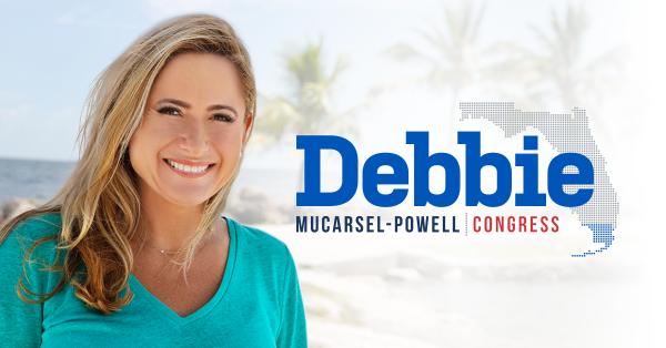 La precandidata demócrata al Congreso por el Distrito 26 de Miami, FL, Debbie Mucarsel-Powell que no necesita tener más más dinero que su oponente republicano y titular del puesto, Caros Curbelo para ganar un asiento en el Congreso en noviembre. Foto: www.debbiemucarselpowell.com.