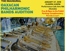 Oaxacan Philharmonic Bands Audition