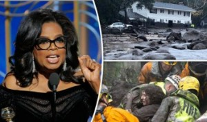 Opra Winfrey exhorta a rezar por las víctimas de Montecito, CA. Foto: www.briefreport.co.uk. .