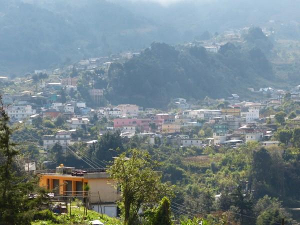 Vista panorámica de San Pedro Soloma,  localizado en las montañas de  Cuchumatanes, las más altas de Centro América.