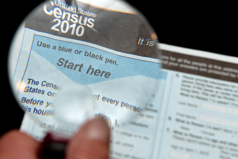 Formulario del censo. Foto: www.ibtimes.com