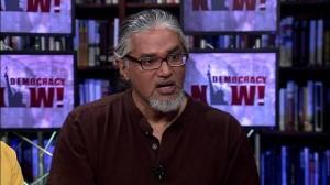 Uno de los defensores de los derechos de los inmigrantes más conocidos de Nueva York, Ravi Ragbir, director ejecutivo de New Sanctuary Coalition, fue detenido por ICE y se encuentra en Miami, Florida en violación a la jurisdicción que le pertenece, para alejarlo de su familia, amigos y abogados. Foto: Democracy Now.