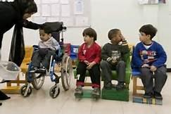 Ninos con discapacidades en una ecuela de Texas. Foto: www.thenational.ae