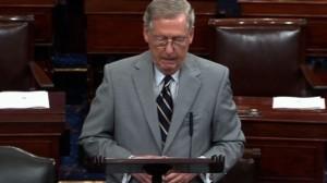 Senador republicano de Kentucky, Mitch McConnell, líder de la mayoría en el Senado. Foto: www.usatoday.com