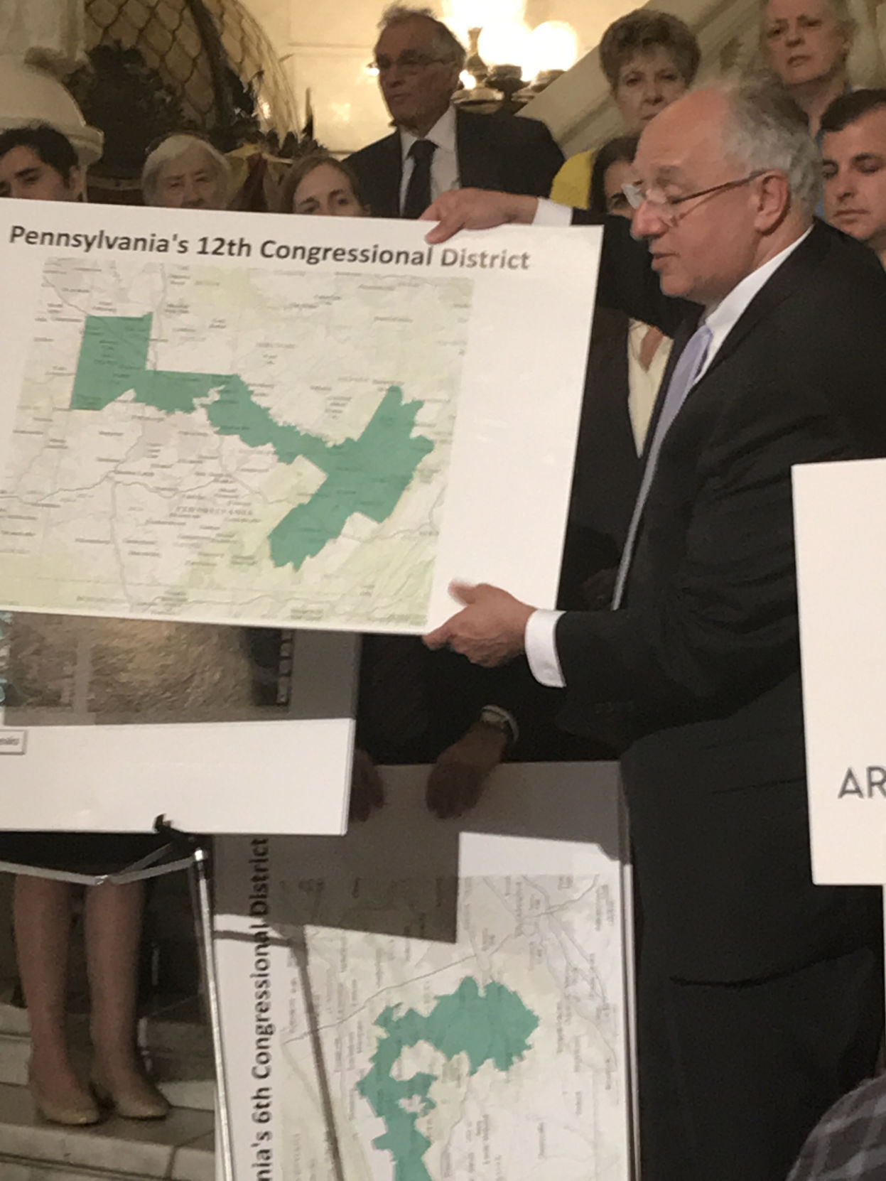 Gersch's law firm, along with the Public Interest Law Center, filed a lawsuit Thursday alleging the state's Congressional districts are illegally weighted to the advantage of the Republican Party. Photo by John Finnerty/CNHI State Reporter