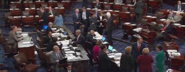 El Congreso en votación sobre el proyecto de ley. Foto: www.usaherlad.com
