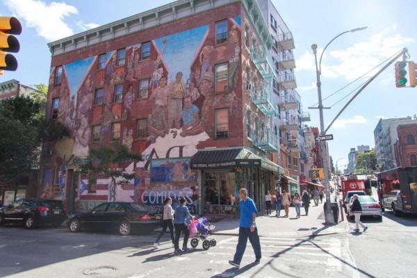 Vecindario conocido como El Barrio, en el East Harlem de la Ciudad de Nueva York. Foto: amny.com