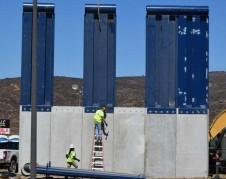 Prototipos de muro fronterizo. Foto: www.nhregistrer.com.