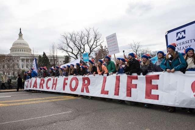Marcha por Nuestras Vidas. Foto: www.catholicnewsagency.com.