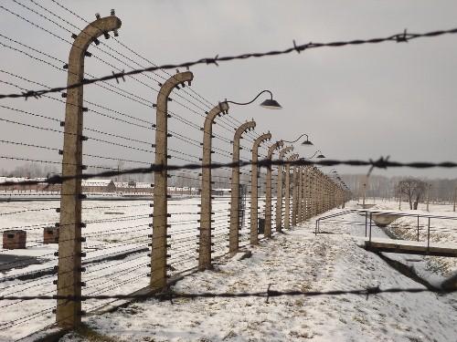 Enrejado de un campo de concentración en Polonia. Foto: www.cuantos.net