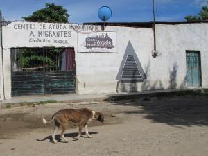 El albergue para migrantes en Chahuites se cerró en junio de 2017 después de que el presidente municipal, conocido como Trump Oaxaqueño, llegó a la presidencia.