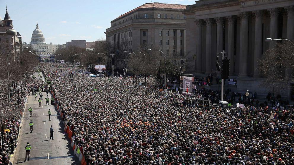 Marcha por Nuestras Vidas 24 de marzo de 2018 Washington, DC. Foto: www.usapost.news.