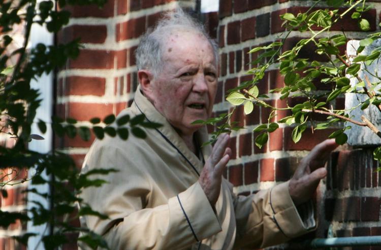 Carcelero nazi, Jakiw Palij en su residencia de Queens, Nueva York. Foto: Daily News.