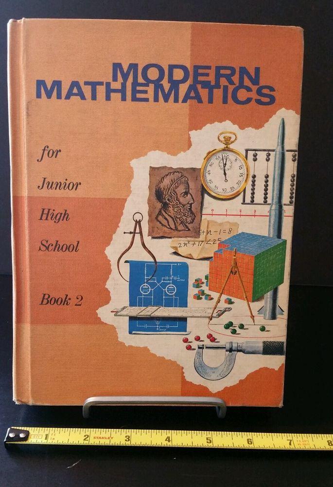 Matemáticas modernas para escuela secundaria. Foto: www.pinterest.com