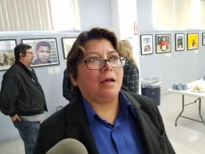Carmen White, supervisora de una megaempresa farmacéutica. Desde hace más de 25 años trabaja con incertidumbre de horarios de trabajo.
