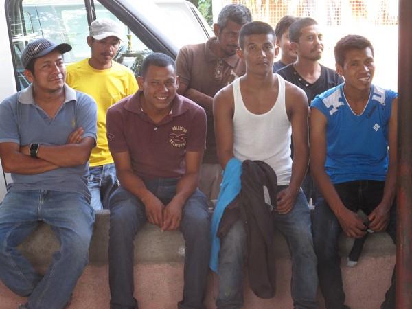 Migrantes centroamericanos en el albergue Hermanos en el Camino en Ixtepec, Oaxaca. Las muertes de migrantes encontrados en la frontera de Estados Unidos y México aumentaron en 2017 a pesar de que el número de aprehensiones en la zona fronteriza disminuyó drásticamente.