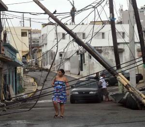 Caos en el tendido eléctrico de Yabucoa, PR. Foto: www.elnuevodia.com.