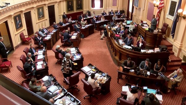Discusión de la expansión del Medicaid en el comité de Presupuesto del Senado en Virginia. Foto: wwwazfamily.com.