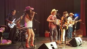 Conjunto del Japón, que participó en el 37th Conjunto Tejano Festival en San Antonio, Texas.