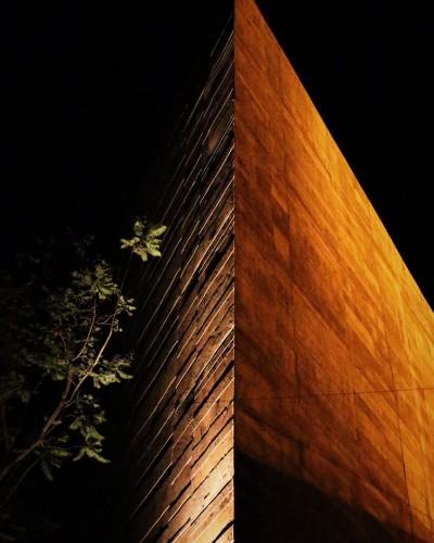 Un ángulo del Centro Cultural Teopanzolco.
